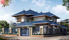 Công năng kiểu mái thái phù hợp với kiến trúc biệt thự Việt nam