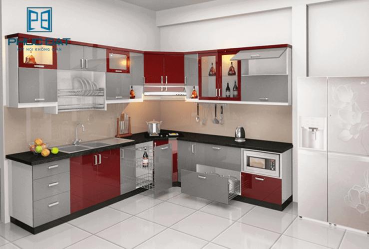 Nơi nào cung cấp tủ bếp nhôm kính cao cấp được lòng người tiêu dùng nhất?