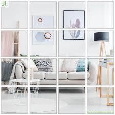 Làm mới nội thất với gương dán tường décor